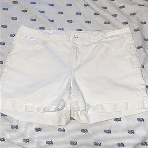 White Tommy Hilfiger Jean shorts